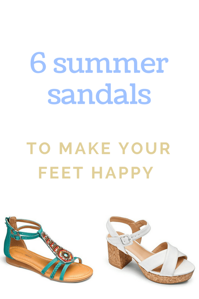 6 summer sandals to make you feet happy