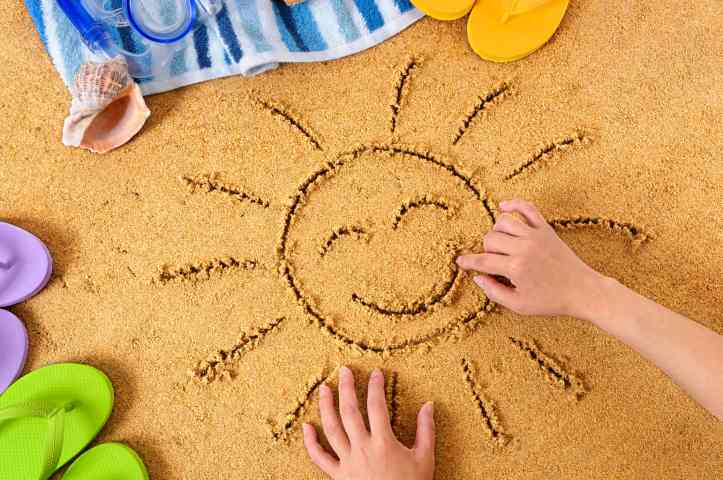 travelling with children less stressful