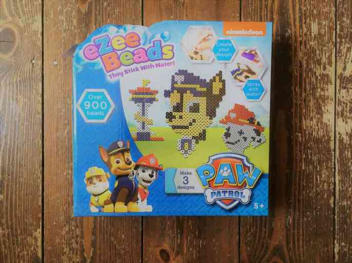 paw patrol ezee beads review and giveaway