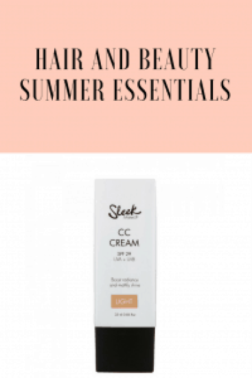Hair and beauty summer essentials