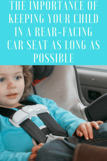 Why it's important to keep your child in a rear-facing car seat as long as possible