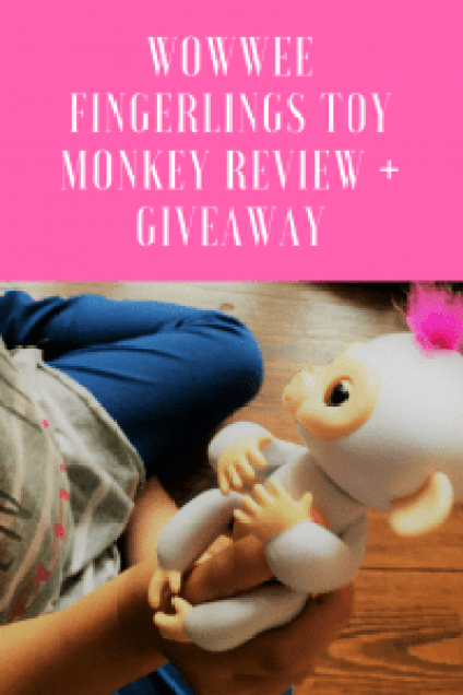 WowWee Fingerlings Toy Monkey review + #giveaway