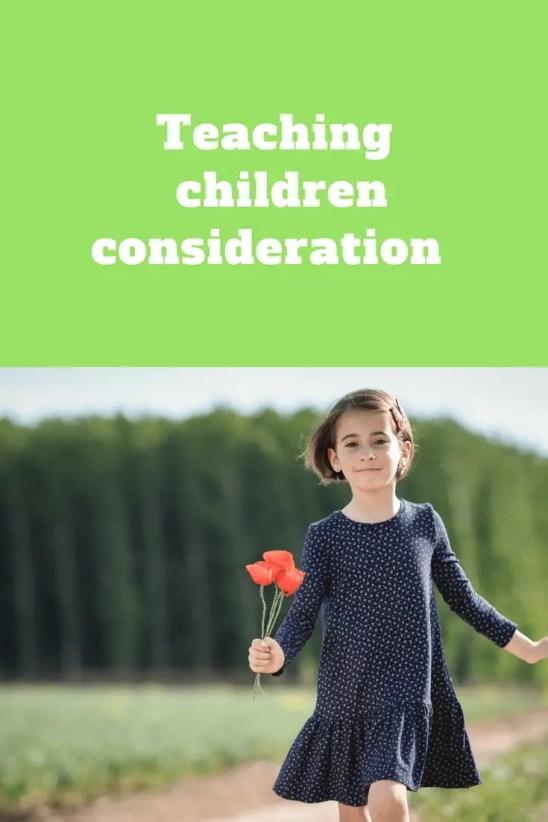 Teaching children consideration