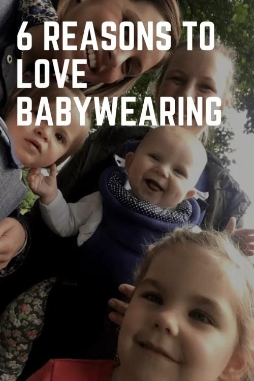 6 reasons to love babywearing