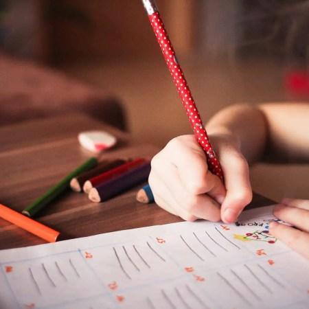teaching children handwriting