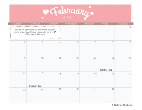 calendar_Feb-2014-calendar