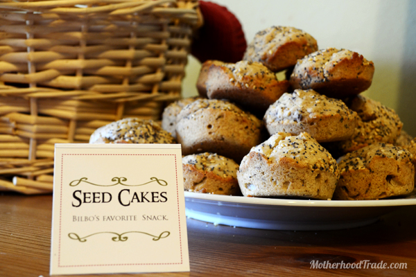 seed-cakes-LOTR-party