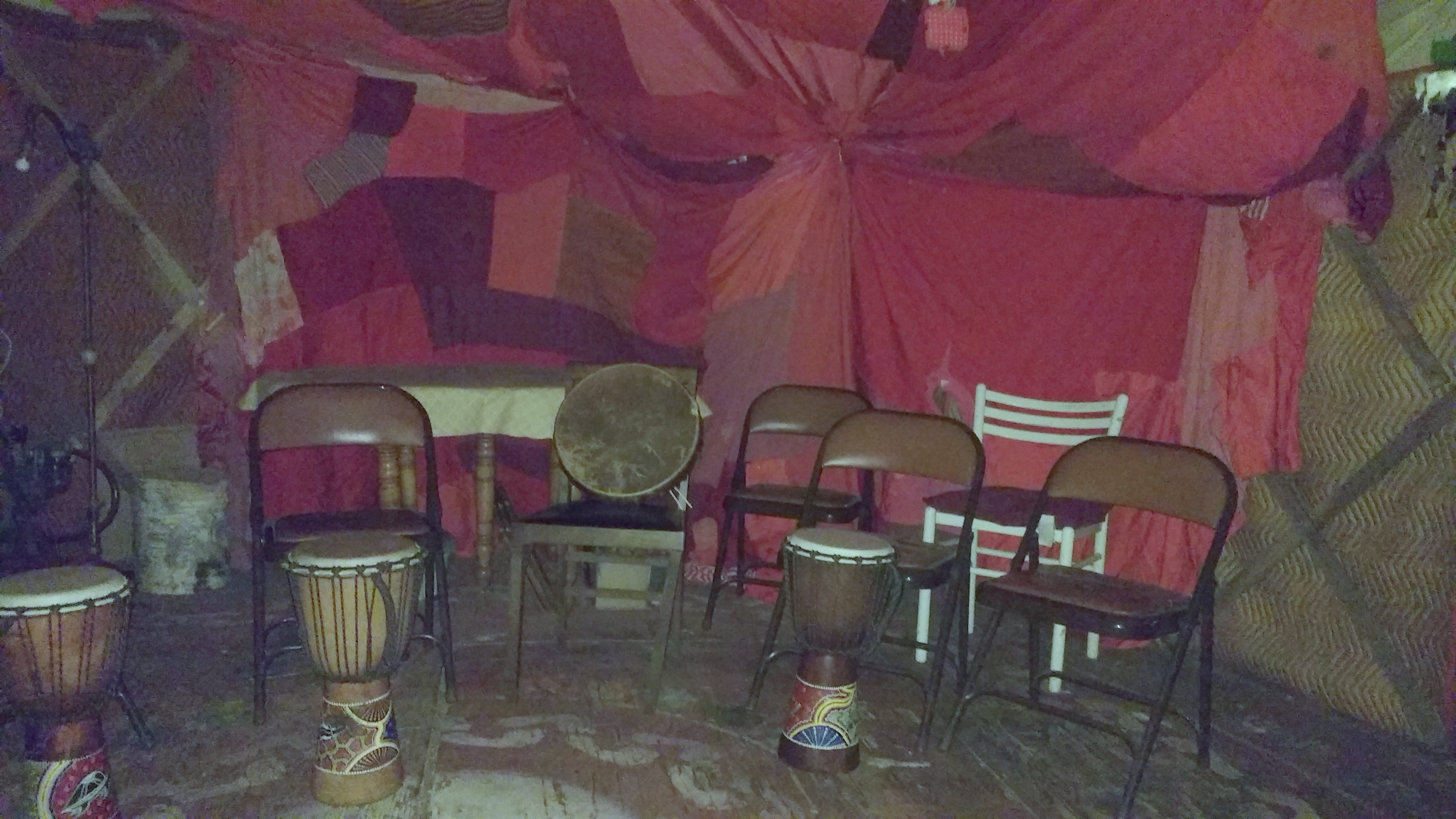 reddy for women's drum circle