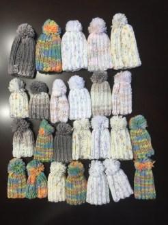 Crochet hats for early pregnancy loss babies