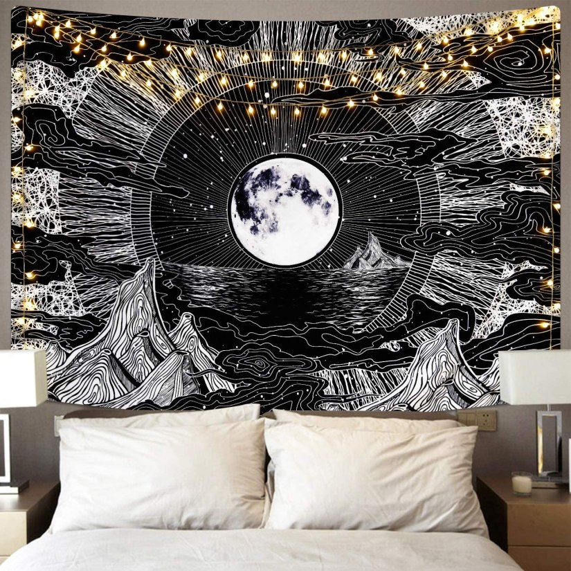 Teens love trippy tapestries making it a great Christmas gift for teens