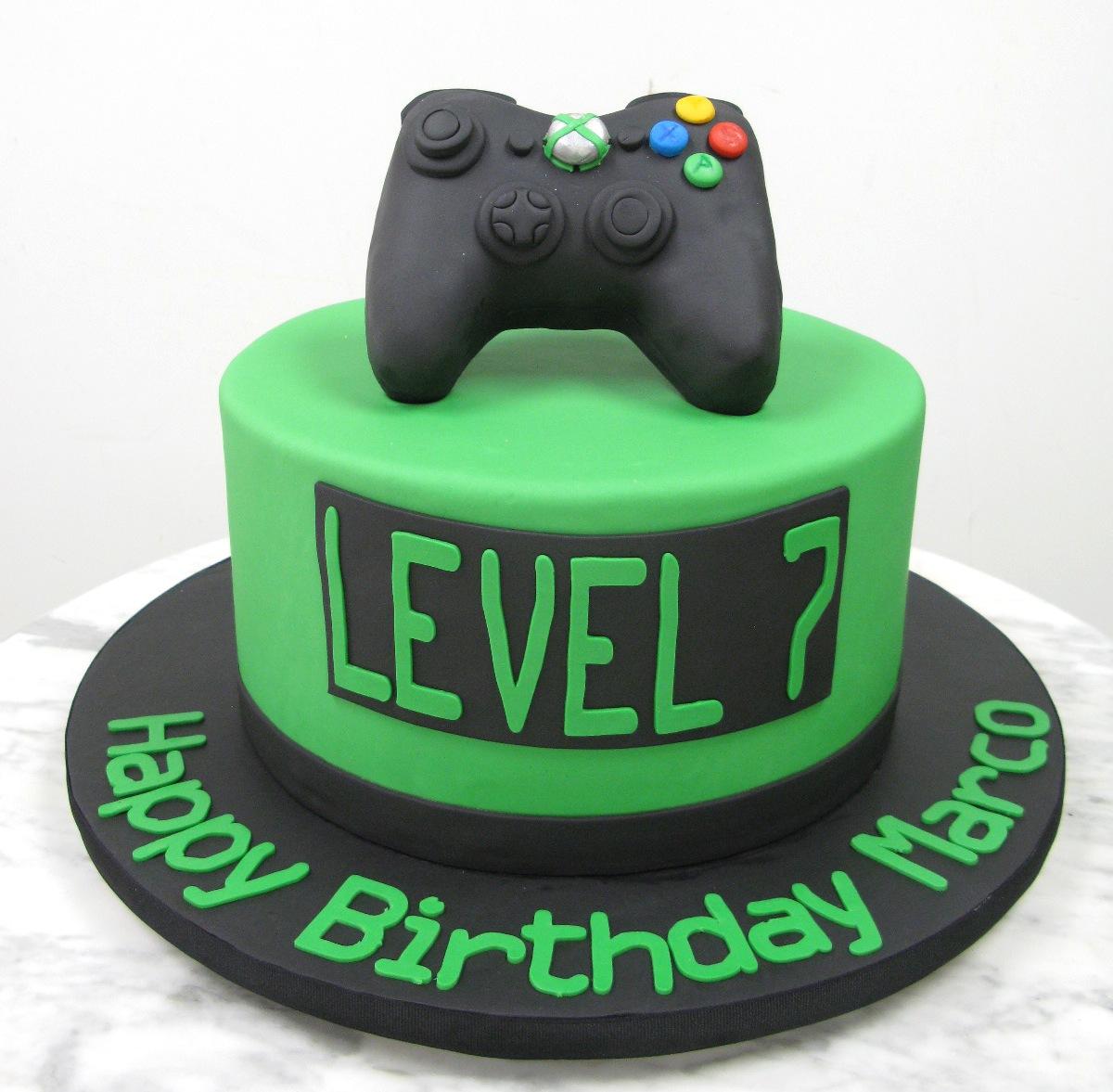 Gamer Birthday Cake Ideas