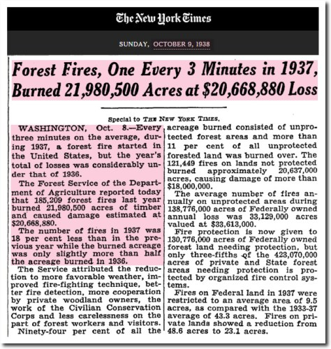 nytimes 1938 one every 3 minutes