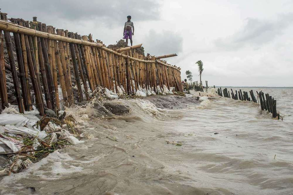 India's Ghoramara island is disappearing into the sea