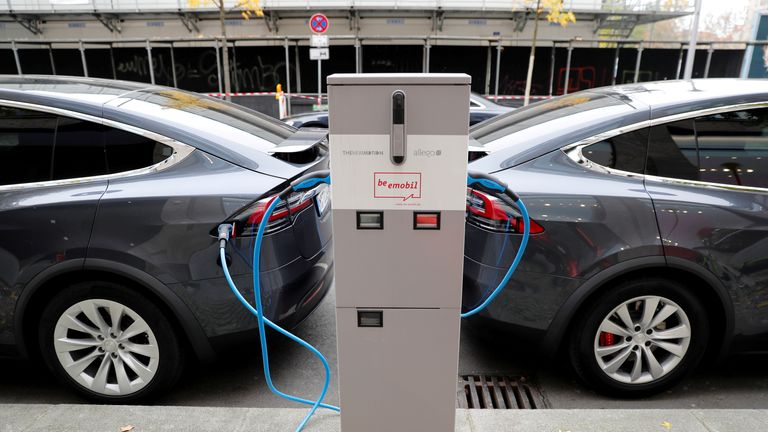 Electric cars are a form of climate change mitigation as they reduce human-induced CO2 emissions