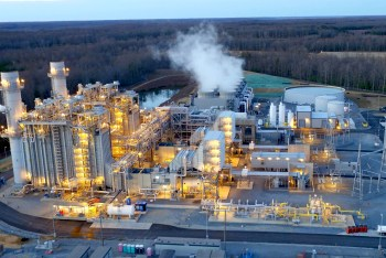 natural gas fired plant