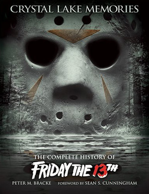 Movie poster with frightful mask and text.