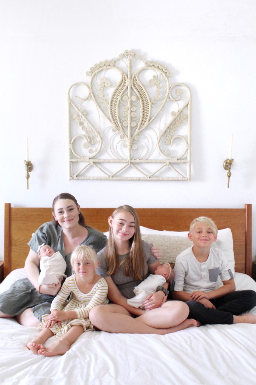autumn with her five children