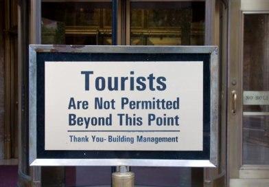 Chinesische Touristen unerwünscht!