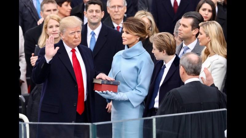 Angelobung Donald Trump