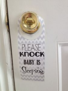 please knock
