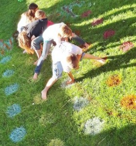 outdoor twister summer fun