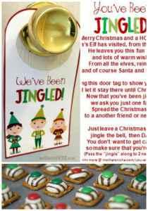 """""""You've Been Jingled"""" Christmas Printable"""