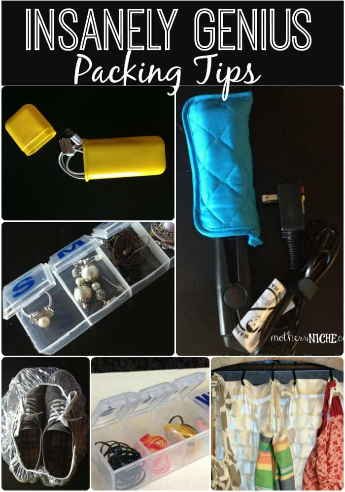 I love how creative and thrifty all of these packing tips are