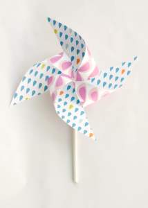 Summer Pinwheels Printable