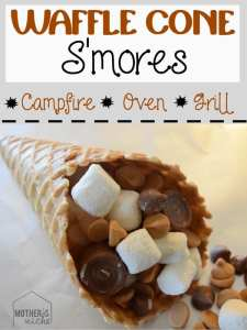 Waffle Cone S'mores