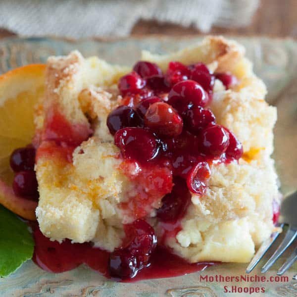 Orange Cranberry French Toast Casserole