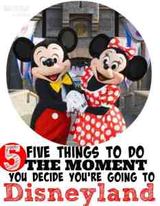 Disneyland Vacation Planning Tips