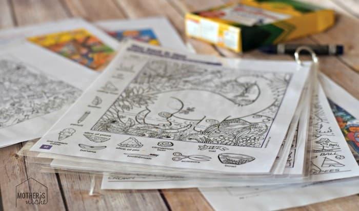 Free Hidden Pictures Printable FlipBooks. Kids love them!