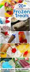 Frozen Treats For all Summer Long