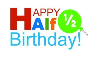fun ways to celebrate a half birthday