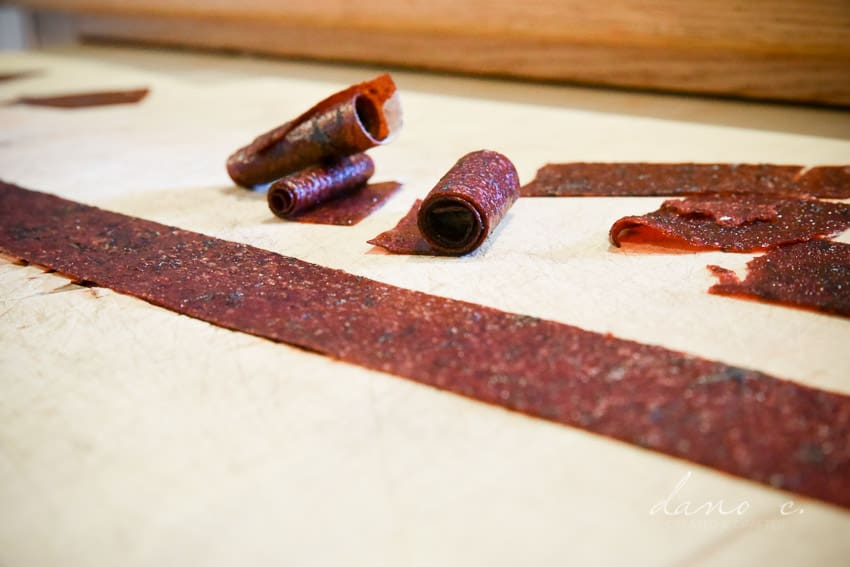 DIY fruit leather in the oven