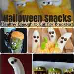 Fun & Healthy Halloween Snacks For kids