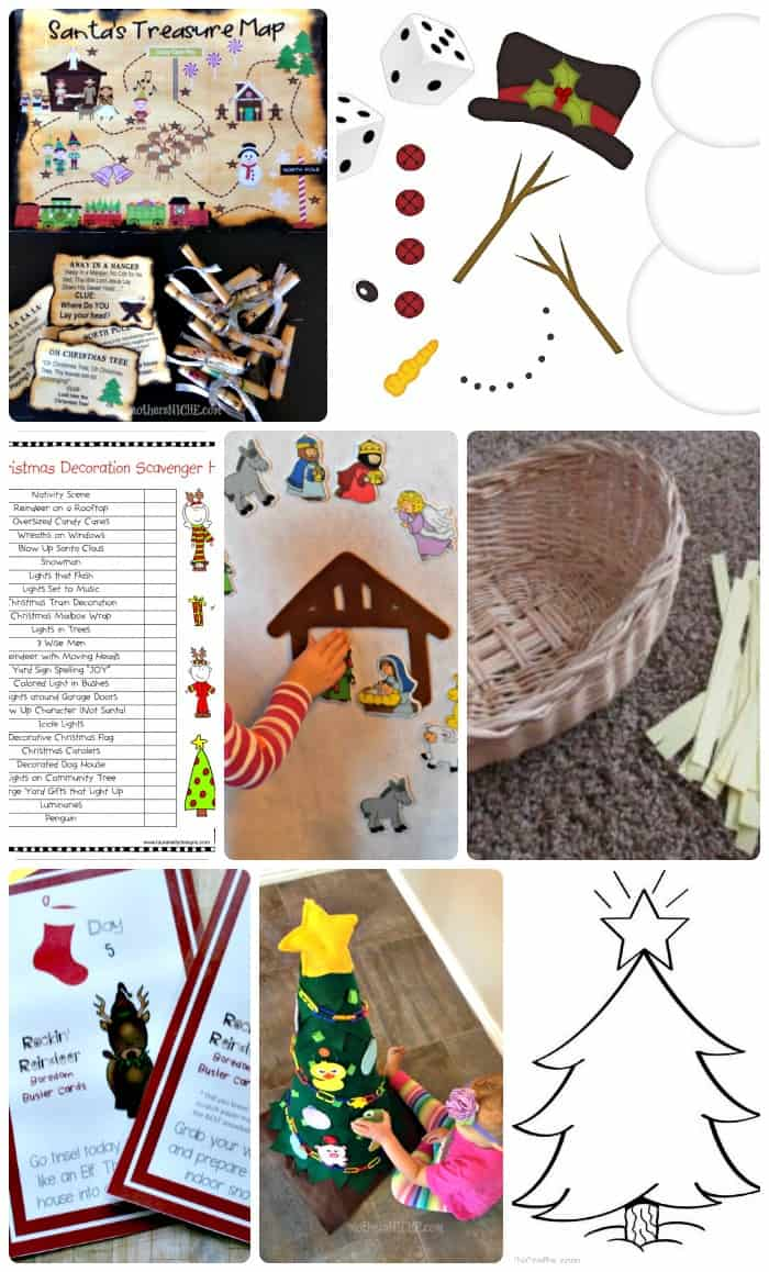 Kids Christmas Scavenger Hunts and other activities