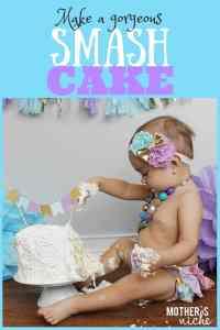 Make a Gorgeous Birthday SMASH CAKE