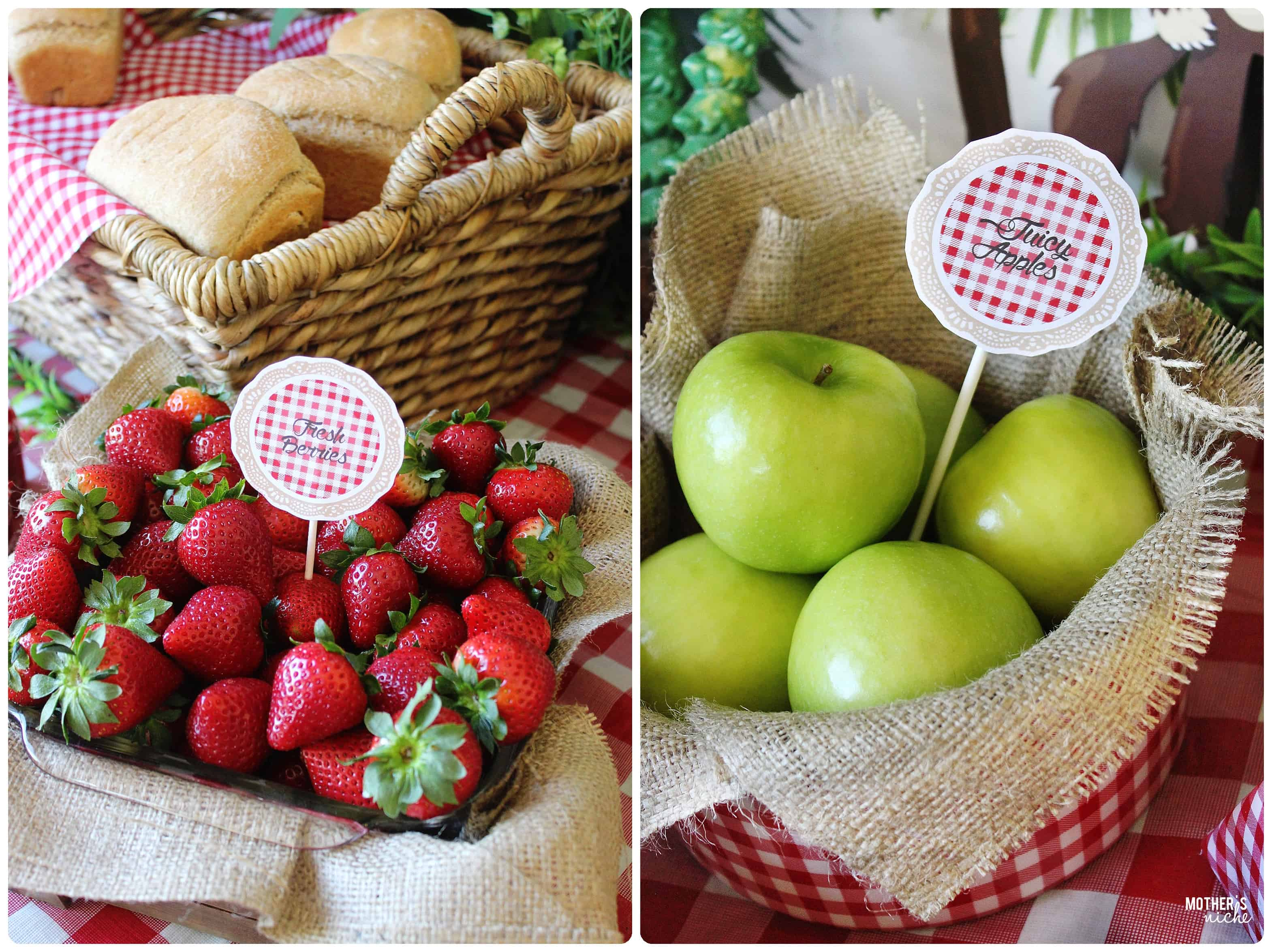 Fresh Berries and Juicy Apples