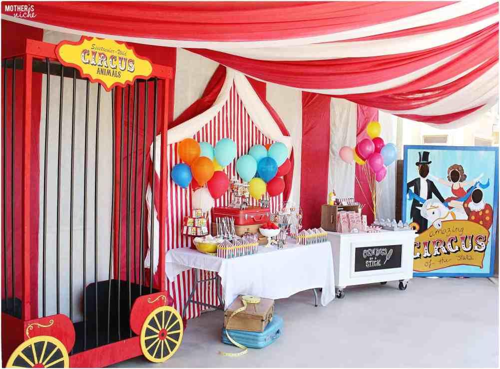 Circus Party Set up