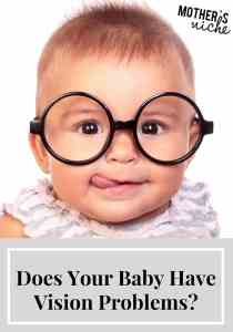 How to Know if Your Baby Has Vision Problems