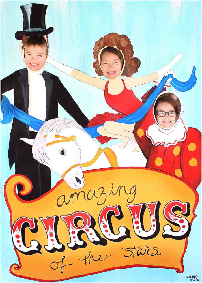 Circus Party Poster