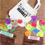 farmers market busy bag - Free Printable!