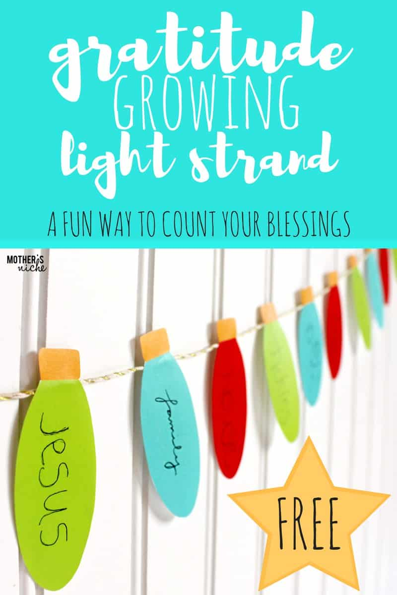 gratitude lights for christmas: decorations with meaning that grow