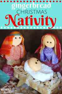 Easy and Adorable GINGERBREAD NATIVITY + the BEST Gingerbread and royal icing recipes