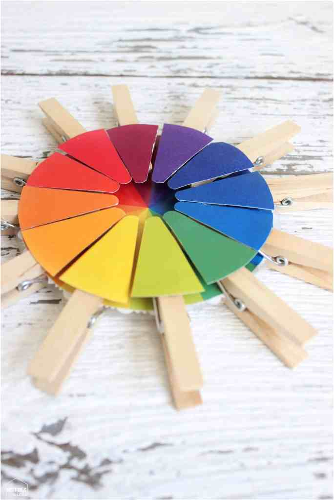 color wheel busy bags