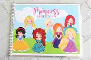 princess quiet book tutorial