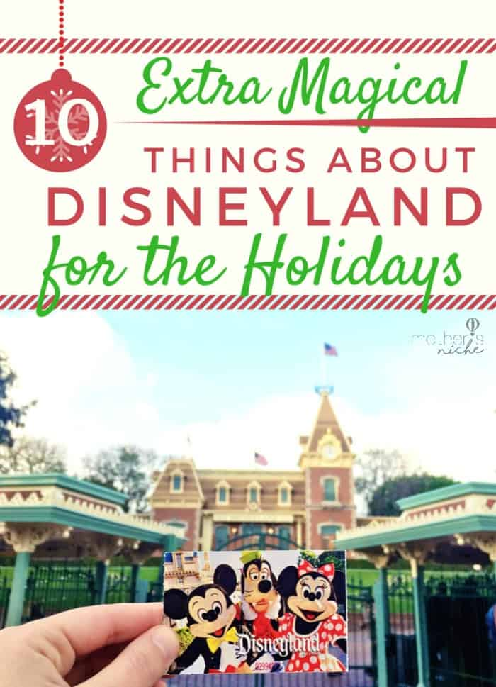 Ultimate holiday magic Disneyland at Christmas