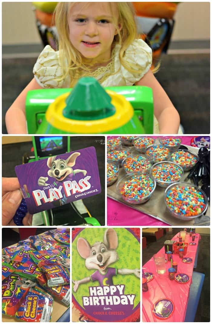 5 Reasons to consider a Chuck E. Cheese Birthday Party