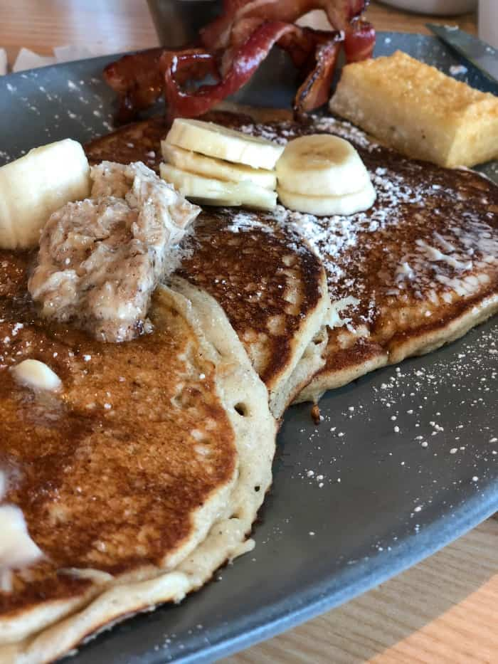 Banana Bread Pancakes - What to Eat in Key West